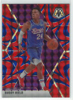 2019-20 Panini Mosaic Blue Reactive Prizm #198 Buddy Hield SAC Kings NBA