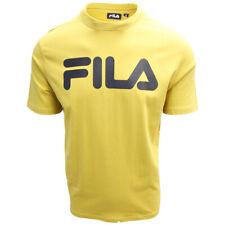 FILA Men's Classic Mustard Yellow S/S T-Shirt (S07D)