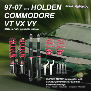 Height Adjustable Coilovers Strut Shock Suspension For Holden Commodore VY VT VX