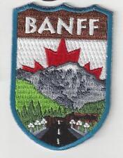 Banff Alberta Canada Souvenir Patch