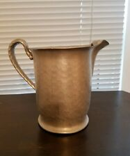 Everlast Forged Hammered Aluminum #1172 Pitcher with Ice-Lip