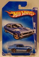 2009 Hot Wheels Faster Than Ever '68 Nova FTE KMART Exclusive BLUE