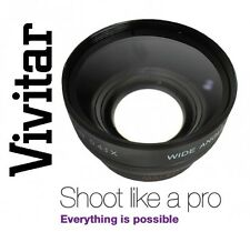 Vivitar HD4 Optics Wide Angle With Macro Lens For Sony SLT-A57K SLT-A57