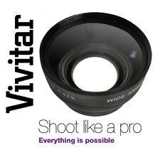 Vivitar HD4 Optics Wide Angle With Macro Lens For Sony SLT-A57K SLT-A57