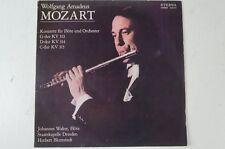 Mozart Flötenkonzerte KV 313 314 315 Johannes Walter Staatskapelle Dresden(LP29)