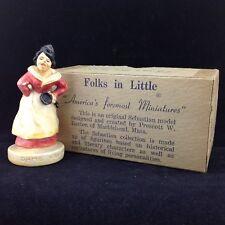 Sebastian Miniature Sml-144 Dame Van Winkle - Folks in Little - Box