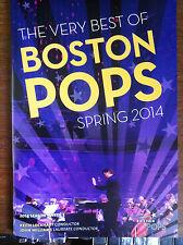 Leonard Nimoy Star Trek Boston Pops program May 23 + 24 2014 tv