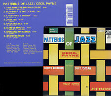 CECIL PAYNE  patterns of jazz  /  NIPPON COLUMBIA, JAPAN