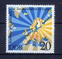 ALEMANIA/RDA EAST GERMANY 1975 MNH SC.1669 Segurity and cooperation,Helsinki