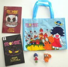 Nuovo 2012 Anime Expo Frombies Borsa ; Libri 1 e 2; Zora Portachiavi;
