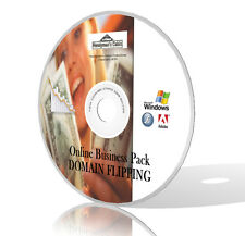 Domain Flipping Online Business Pack - Videos, Guides, Tools & More! DVD