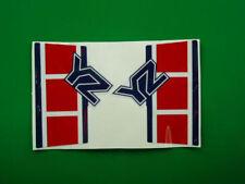 yamaha YZ 490 '85 adesivi spessorati crystall stickers