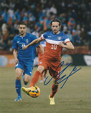MIX DISKERUD SIGNED AUTO'D 8X10 PHOTO POSTER USA SOCCER USMNT NEW YORK CITY FC A