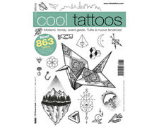 COOL TATTOOS Flash Design Book 64-Pages Sketch Black Color Ink Art Supply