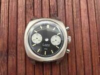 Uhrengehäuse mit Ziffernblatt für ETA Valjoux 7733 swiss made Uhrwerk - neu