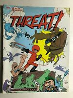THREAT! #3 (1986) Fantagraphics B&W comics magazine VG+