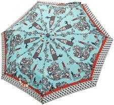 Knirps BLUTSGESCHWISTER Regenschirm für Damen, City Schirm, New York umbrella