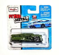 Maisto 2017 Fresh Metal LEADFOOT '53 Chevy 1:64 Scale Die-cast Olive Green - NEW