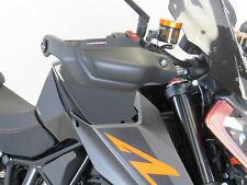 KTM 1290 SUPER DUKE R 17-19 Matt Black Hand Guards - Powerbronze