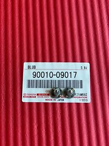New GENUINE Toyota 90010-09017  Cooler Control Switch Bulb  SET OF 2