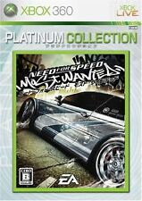 Used Xbox360 Need for Speed Most Wanted Platinum Collection Japan Import