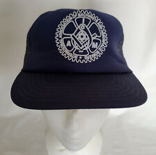 vintage International Association of Machinists and Aerospace Workers Cap Hat