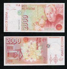 PLANCHA LUJO. 2000 Pesetas año 1992 Celestino Mutis. Serie 9A Nº 3713435.
