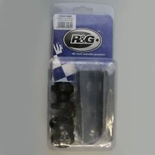R&G Black Offset Cotton Reels for Yamaha YZF-R 125 08-16