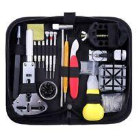 151Pcs Watch Repair Kit Watch Repair Tool Professional Spring Rod Tool Set T3F4