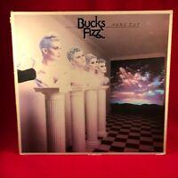 BUCKS FIZZ Hand Cut 1983 UK vinyl LP + INNER EXCELLENT CONDITION