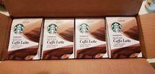 Starbucks Mocha Caffe Latte K Cups 4 Boxes 24 Pods (12/2019)
