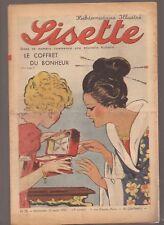 LISETTE 1939 .N°33.AU DOS JACKIE. TEXTE ET DESSINS DE GEORGES BOURDIN  BE