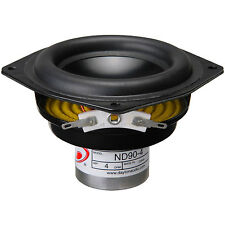 "Dayton Audio ND90-4 3-1/2"" Aluminum Cone Full-Range Driver 4"