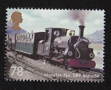2014 SG 3577 78p 'Hunslet No 589 Blanche' ex 'Classic Locomotives of UK' PSB DY9