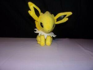 """Pokemon Plush Jolteon 6"""" UFO 2011 Doll Banpresto Stuffed Doll Free Shipping"""