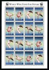 Angola 1058, MNH, Birds 1999 Lesser Flamingo-Phoeniconaias minor x16438
