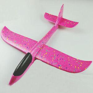 48cm DIY Hand Launch Throw Flying Kids Toys Glider Planes Foam Aeroplane Model