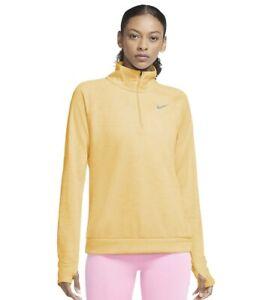 NEW Nike Womens Plus Pacer Half Zip Running Top Shirt Long Sleeved 3X Melon