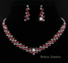 Alloy Red Fashion Jewellery Sets