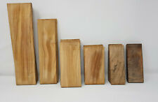 OLIVE WOOD . A pair and slats. Handle blank,knife making,Exotic wood.Handicraft