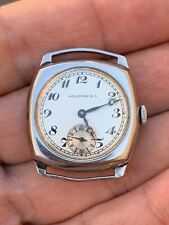 Hausmann&Co Art Deco Watch Vintage Running For Parts Repair