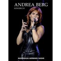 Andrea Berg Songbuch - für Gesang, Klavier, Keyboard, Akkordeon