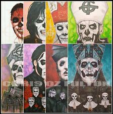 Ghost Band Papa Emeritus Autographed Reprint Signed 8x10 Photo Tobias Forge