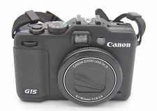 Canon Powershot G15 12.1MP 7.6cmscreen 5x zoom fotocamera digitale
