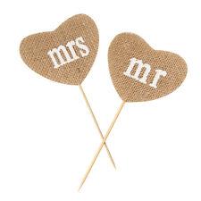 Liebesblume Jute Handwerk Hochzeit Party Fest Dekoration DIY Liebe