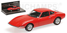 Minichamps 1:43 Opel GT 1965 - Pre-Production - red