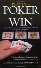 Playing Poker To Win: A Comprehensive Guide to No-limit Texas Hold'em for Begi,