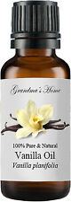 Vanilla Essential Oil - 30 mL 100% Pure and Natural - Free Shipping - US Seller!
