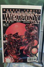 Deadpool 1st Series #59 Marvel Comics 2001 Agent of Weapon X #3 Tieri Smith 9.2