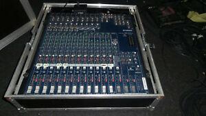 Mischpult Mischer Mixer Yamaha MG 166cx im Case Audio Studio live PA